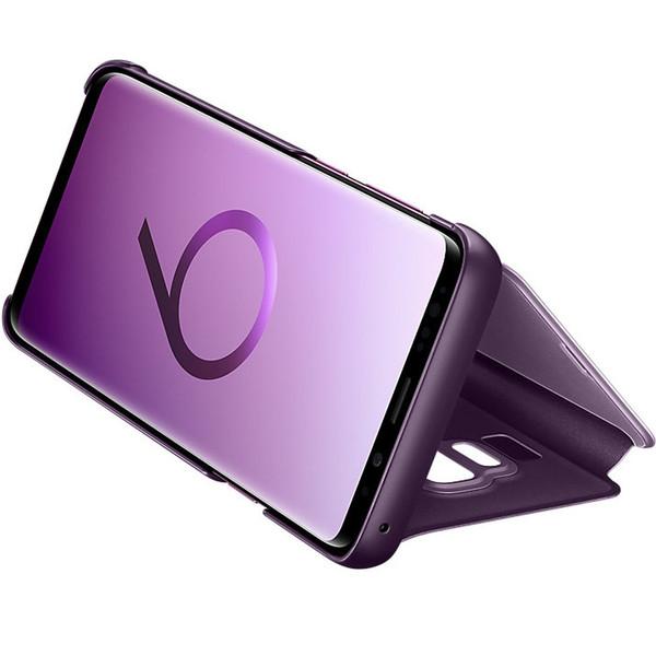 کیف کلاسوری اصلی سامسونگ مدل Clear View Standing مناسب برای گوشی موبایل Galaxy S9 /SM-G960