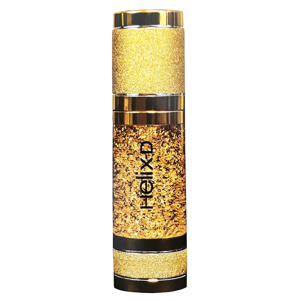 سرم روشن کننده طلای 24 عیار میکرونایز شده هلیکس دی مدل Skin Brightener حجم 35 میلی لیتر