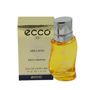 عطر جیبی زنانه اکو مدل Lady Million حجم 30 میلی لیتر