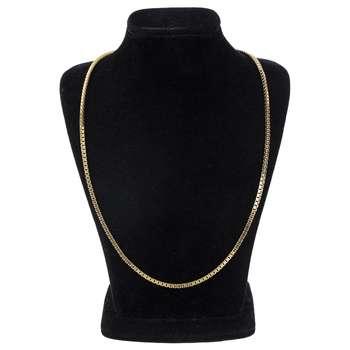 گردنبند طلا 18 عیار گوی گالری مدل G24   Gooy Gallery G24 Gold Necklace