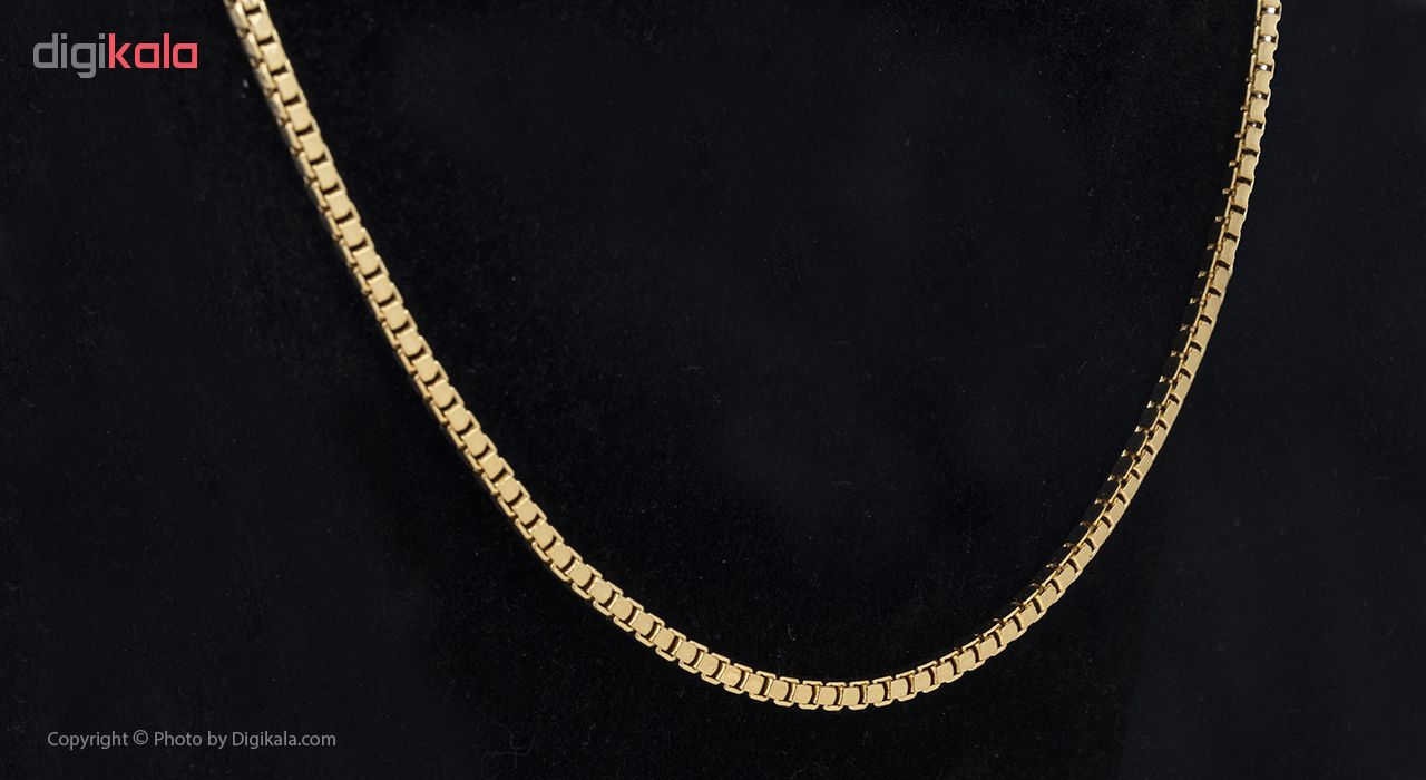 گردنبند طلا 18 عیار گوی گالری مدل G24