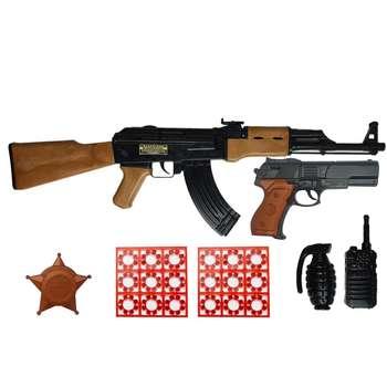 تفنگ بازی گلدن گان مدل naabsell-PA04 مجموعه 6 عددی