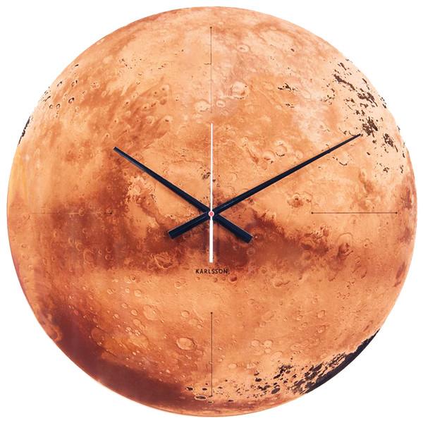 ساعت دیواری کارلسون مدل Mars Clock