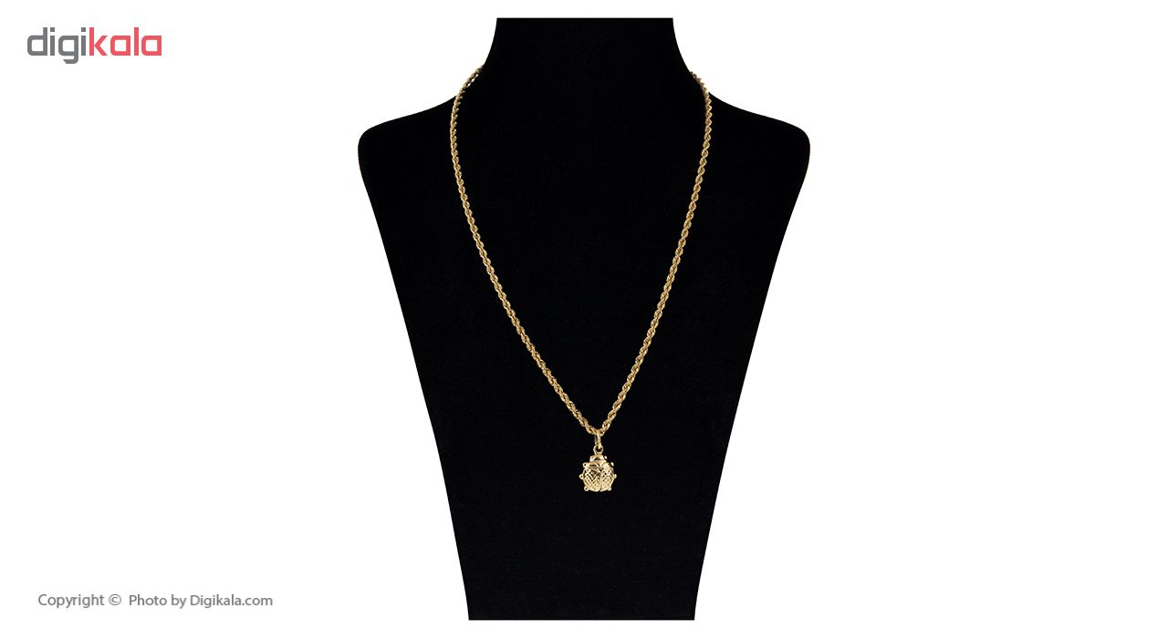 گردنبند طلا 18 عیار گوی گالری مدل G25