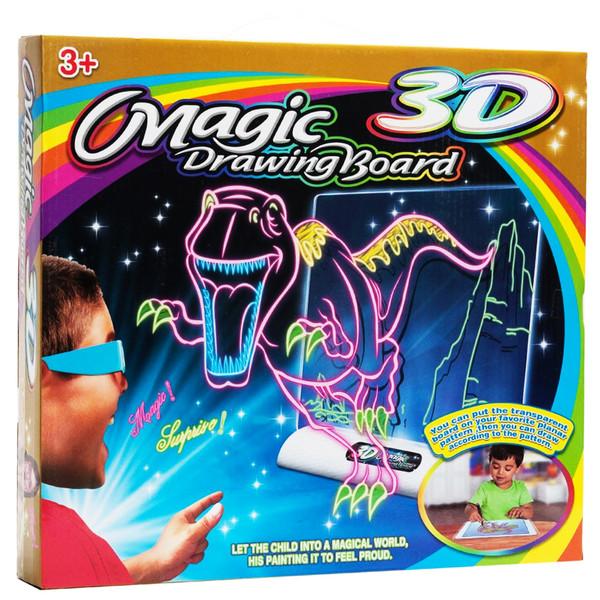 تخته وایت برد سه بعدی مدل 3D magic drawing board