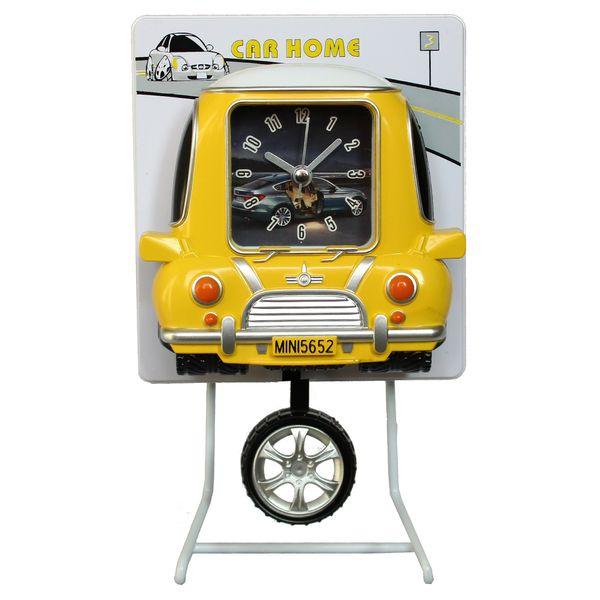 ساعت رومیزی کودک مدل Car home