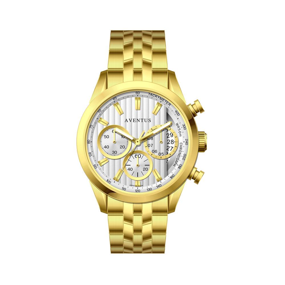 ساعت مچی عقربه ای مردانه اونتوس مدل 1346-2GWH 11