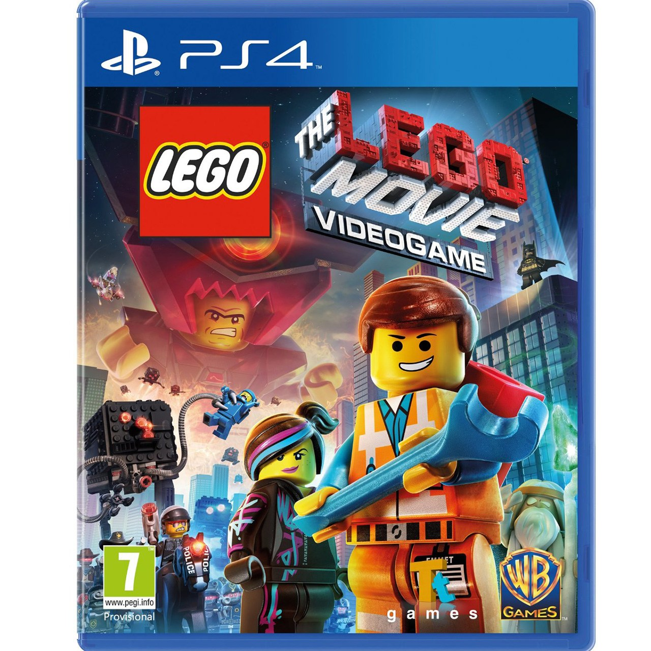 عکس بازی The Lego Movie Videogame مخصوص PS4