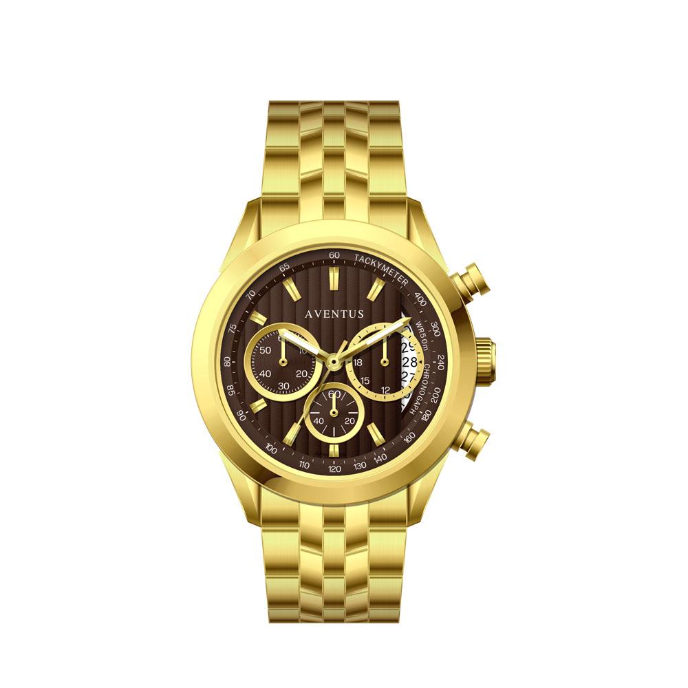 ساعت مچی عقربه ای مردانه اونتوس مدل 1346-2GBR