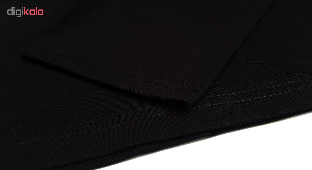 تیشرت آستین بلند پاتیلوک طرح موزیک مدل 330454
