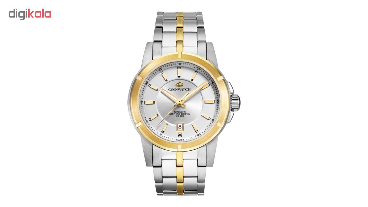 خرید ساعت مچی عقربه ای مردانه کوین واچ مدل C118TWH