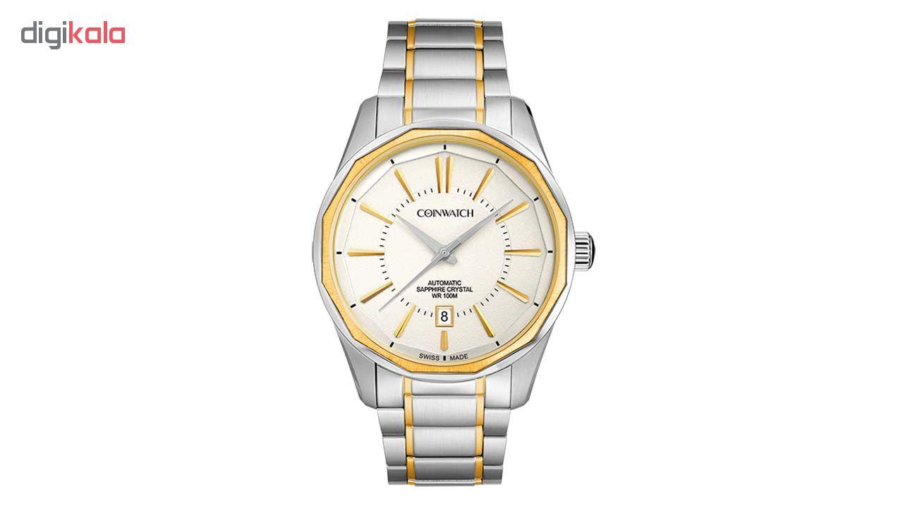 خرید ساعت مچی عقربه ای مردانه کوین واچ مدل C122TWH