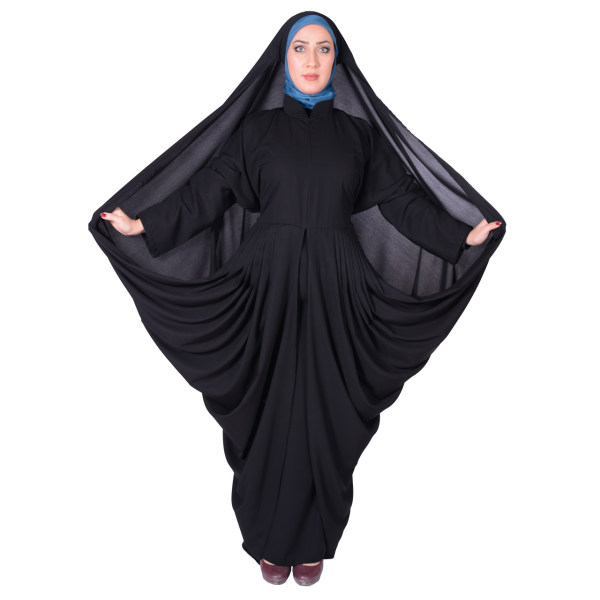 چادر مانتو افرا کرپ کریستال شهر حجاب مدل 8062