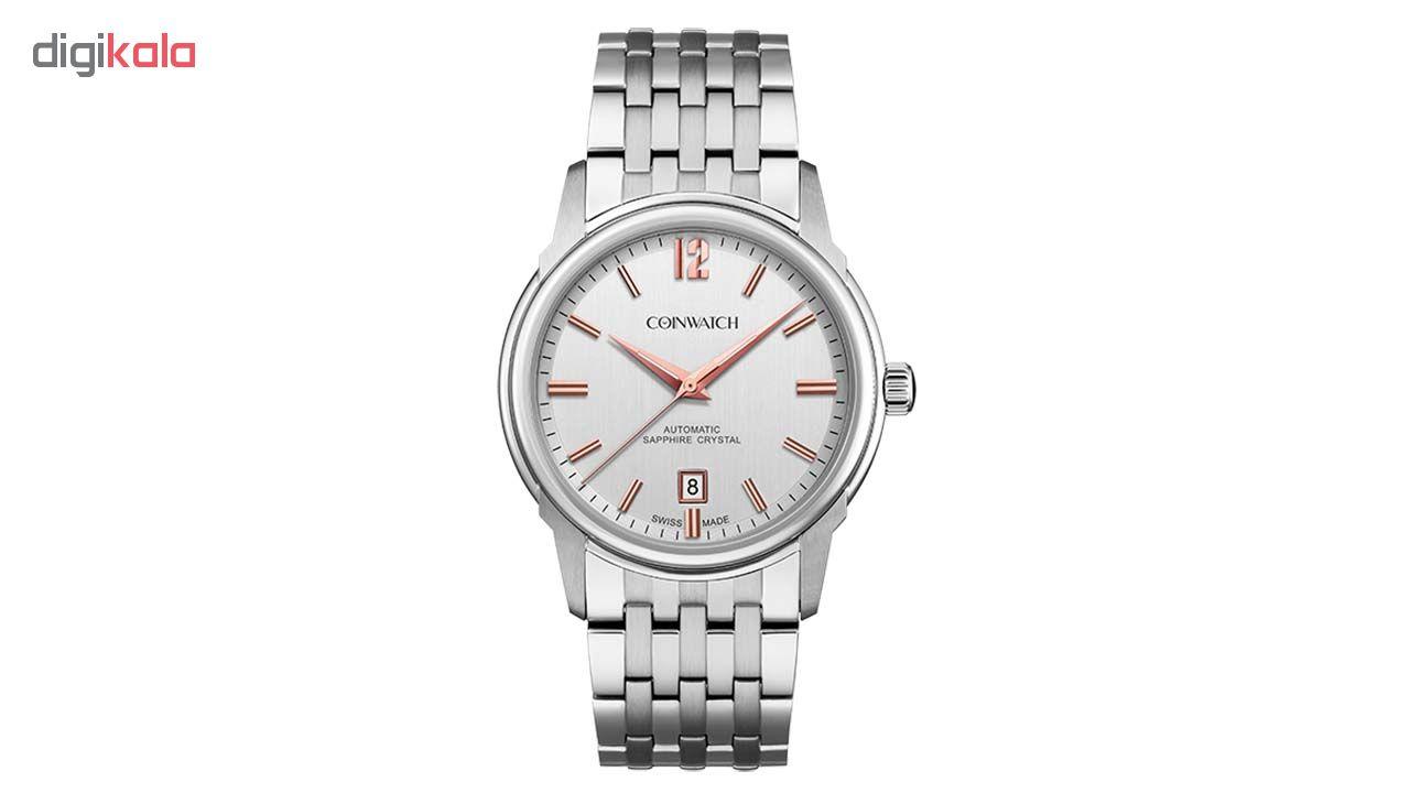 ساعت مچی عقربه ای مردانه کوین واچ مدل C136SWH