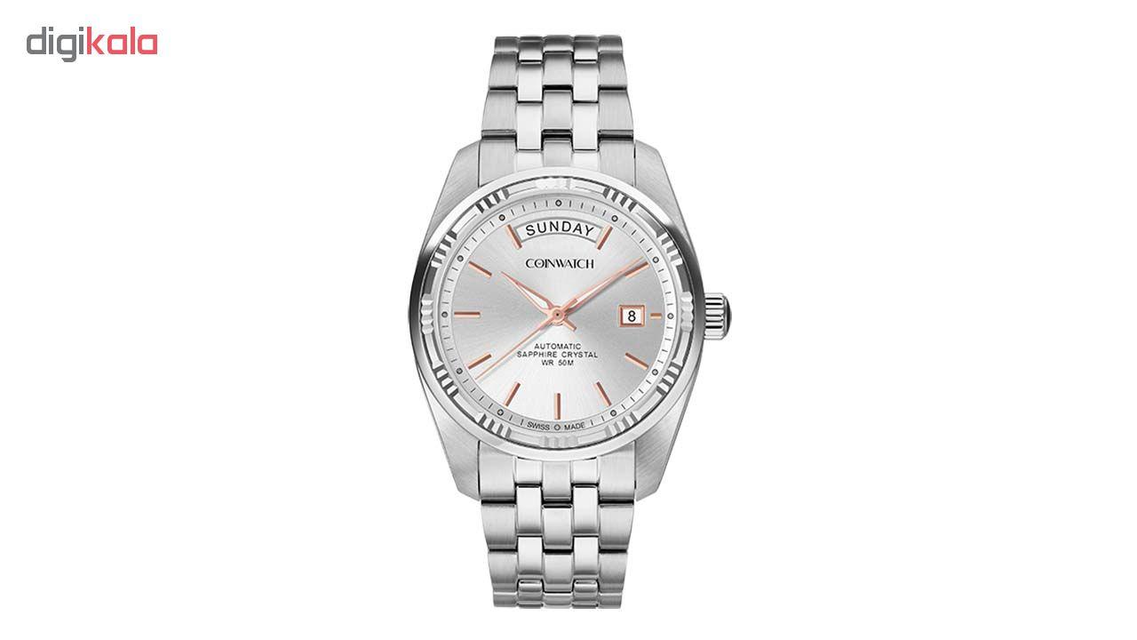 خرید ساعت مچی عقربه ای مردانه کوین واچ مدل C138SWH