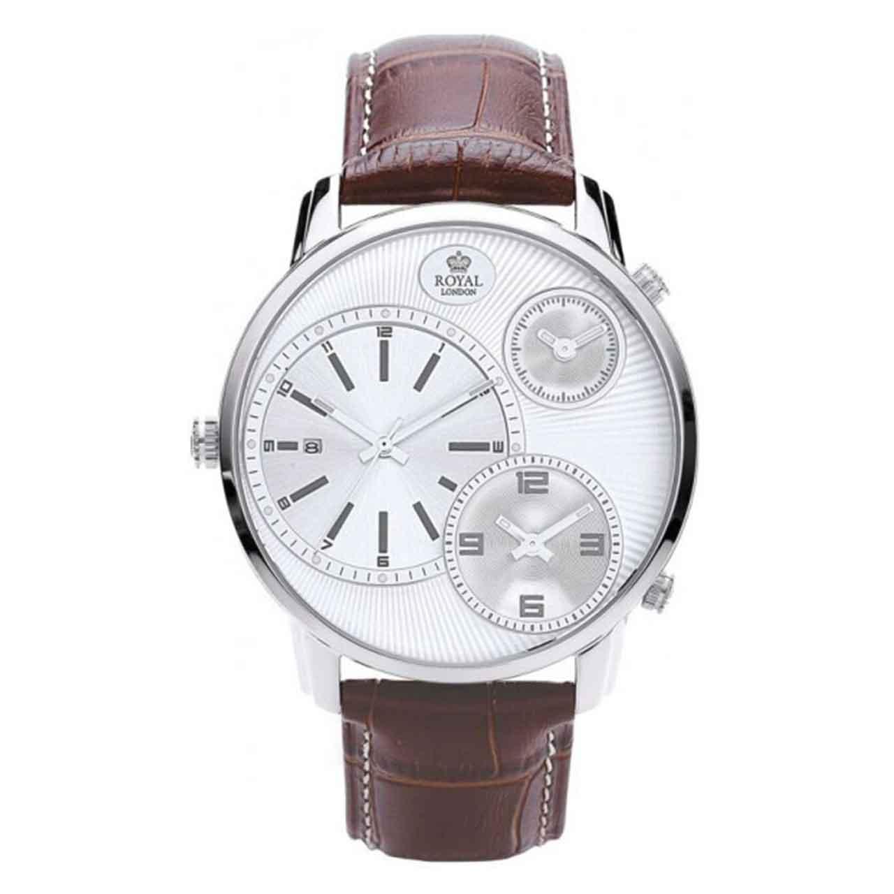 کد تخفیف                                      ساعت مچی عقربه ای مردانه رویال لندن مدل RL-41087-01