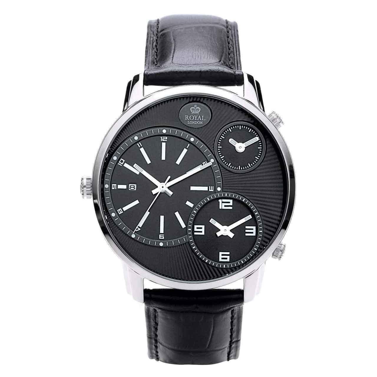 کد تخفیف                                      ساعت مچی عقربه ای مردانه رویال لندن مدل RL-41087-02