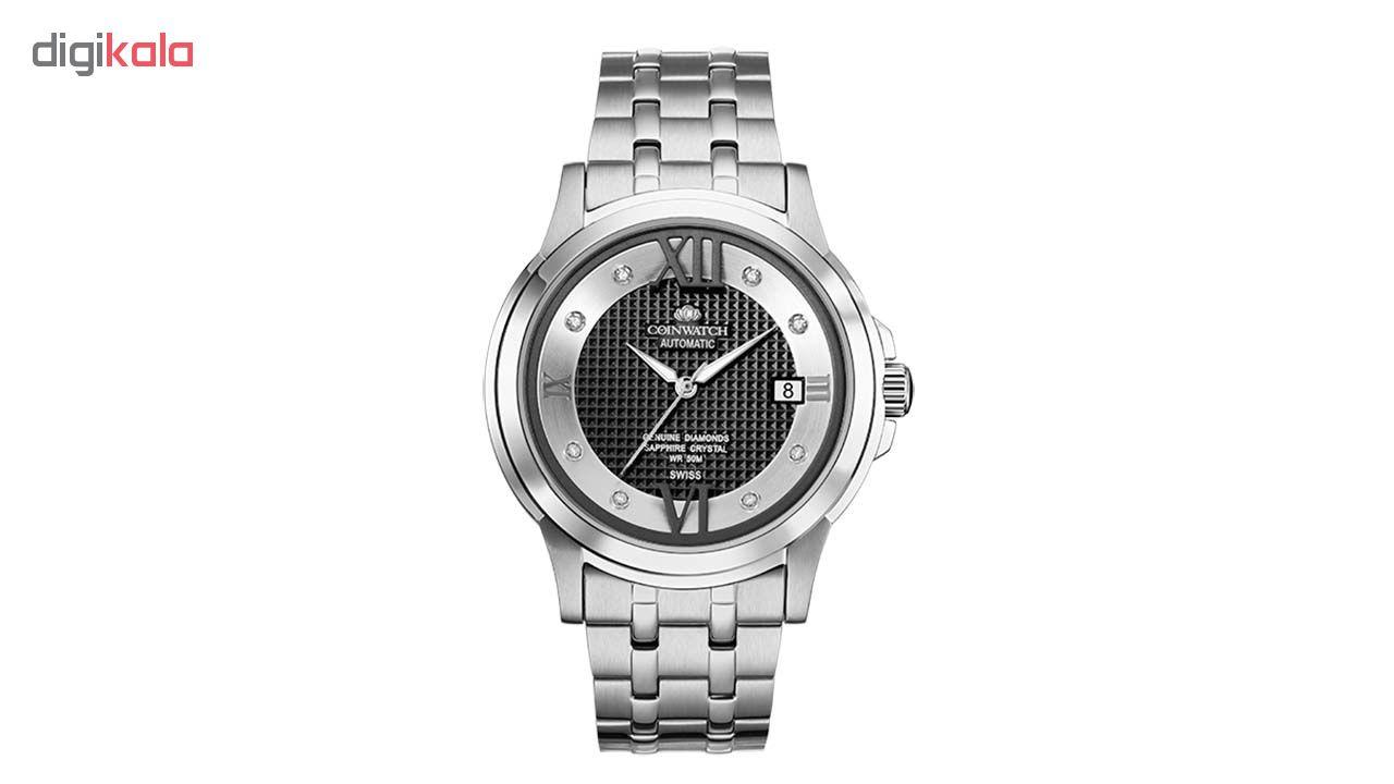 خرید ساعت مچی عقربه ای مردانه کوین واچ مدل C140SBK