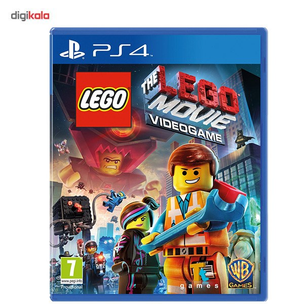 بازی The Lego Movie Videogame مخصوص PS4