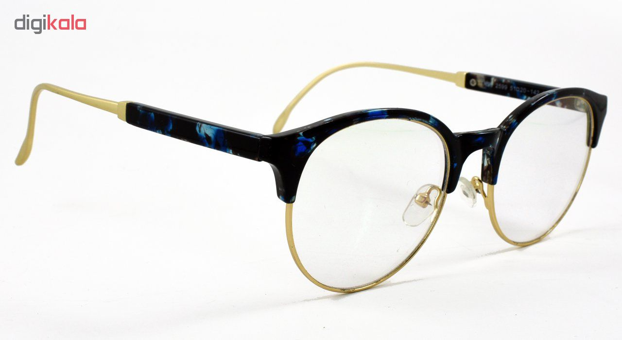 فریم عینک طبی مدل Tr90 High Light Blue Pattern