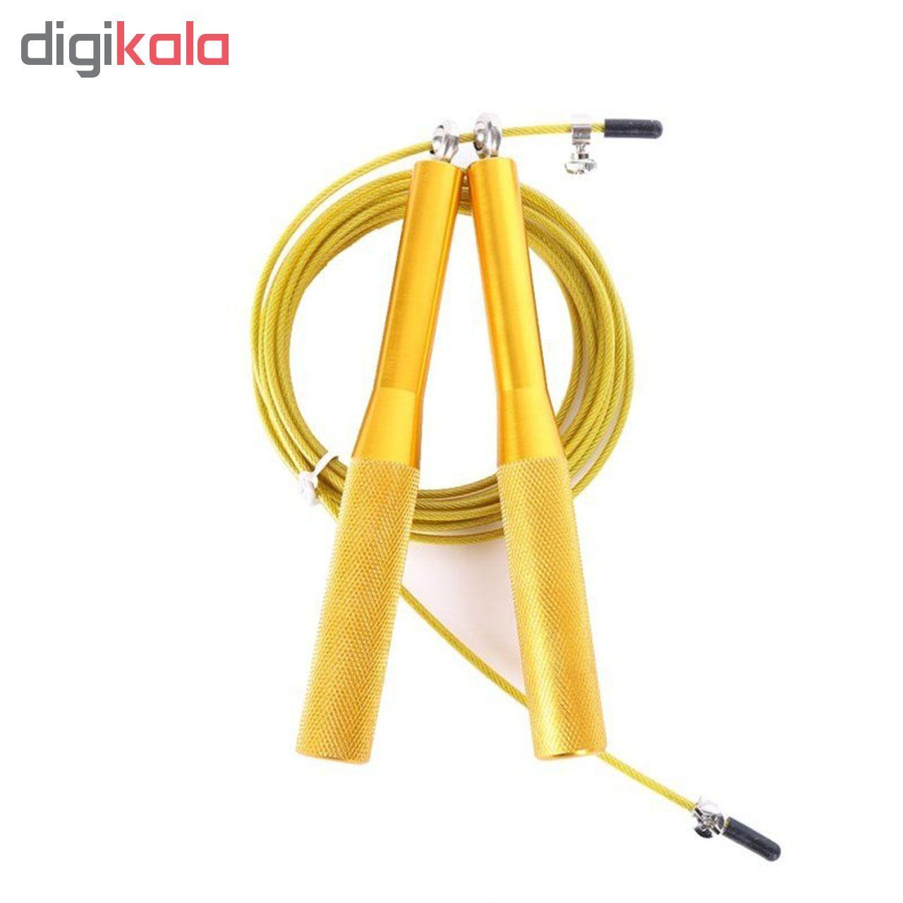 طناب ورزشی کراس فیت مدل 7 Speed Rope Fitness به همراه دستبند پاور بالانس main 1 5