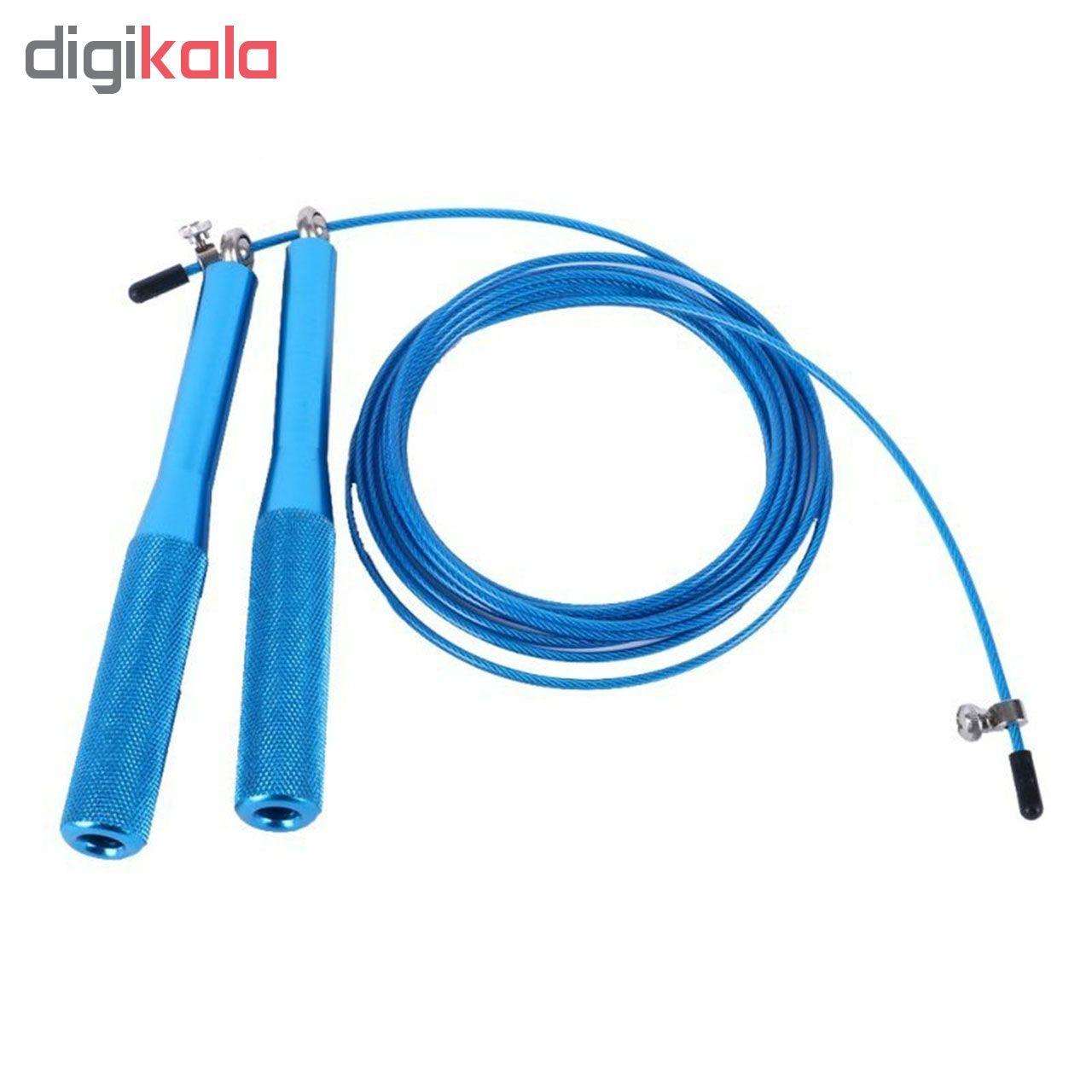 طناب ورزشی کراس فیت مدل 7 Speed Rope Fitness به همراه دستبند پاور بالانس main 1 8