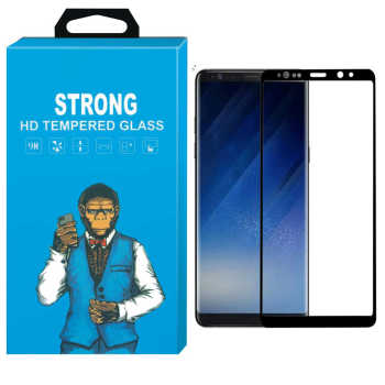 محافظ صفحه نمایش شیشه ای Strong مدل Fullcover مناسب برای گوشی سامسونگ Galaxy Note 9