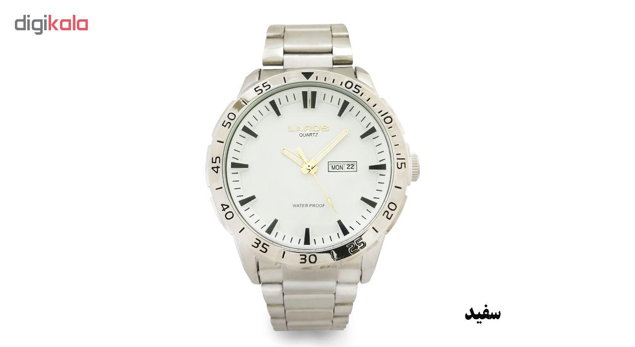 ساعت مچی عقربه ای مردانه لاروس مدل 0817-79943-DD