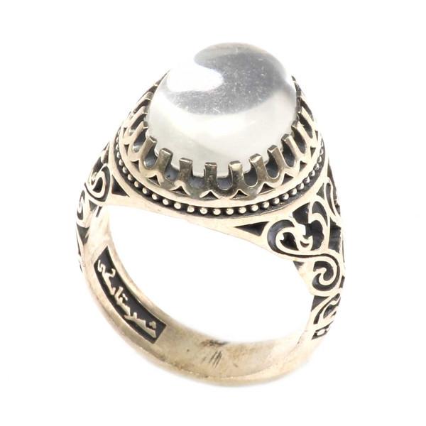 انگشتر نقره شهرستانکی کد 0049