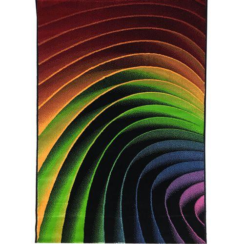 فرش ماشینی مدرن طرح فانتزی مدل سه بعدی کد 9158