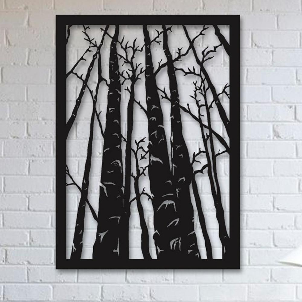 استیکر چوبی آتینو طرح جنگل