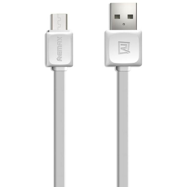 کابل تبدیل USB به microUSB ریمکس مدل SAFE & SPEED طول 1 متر