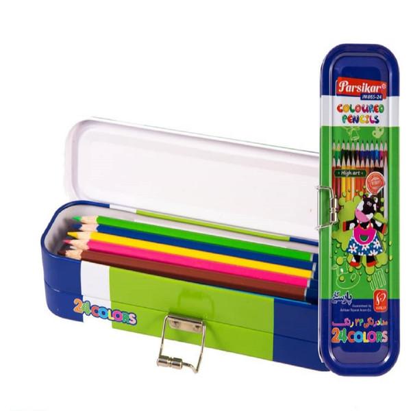 مدادرنگی 24 رنگ پارسی کار مدل JM-865-24