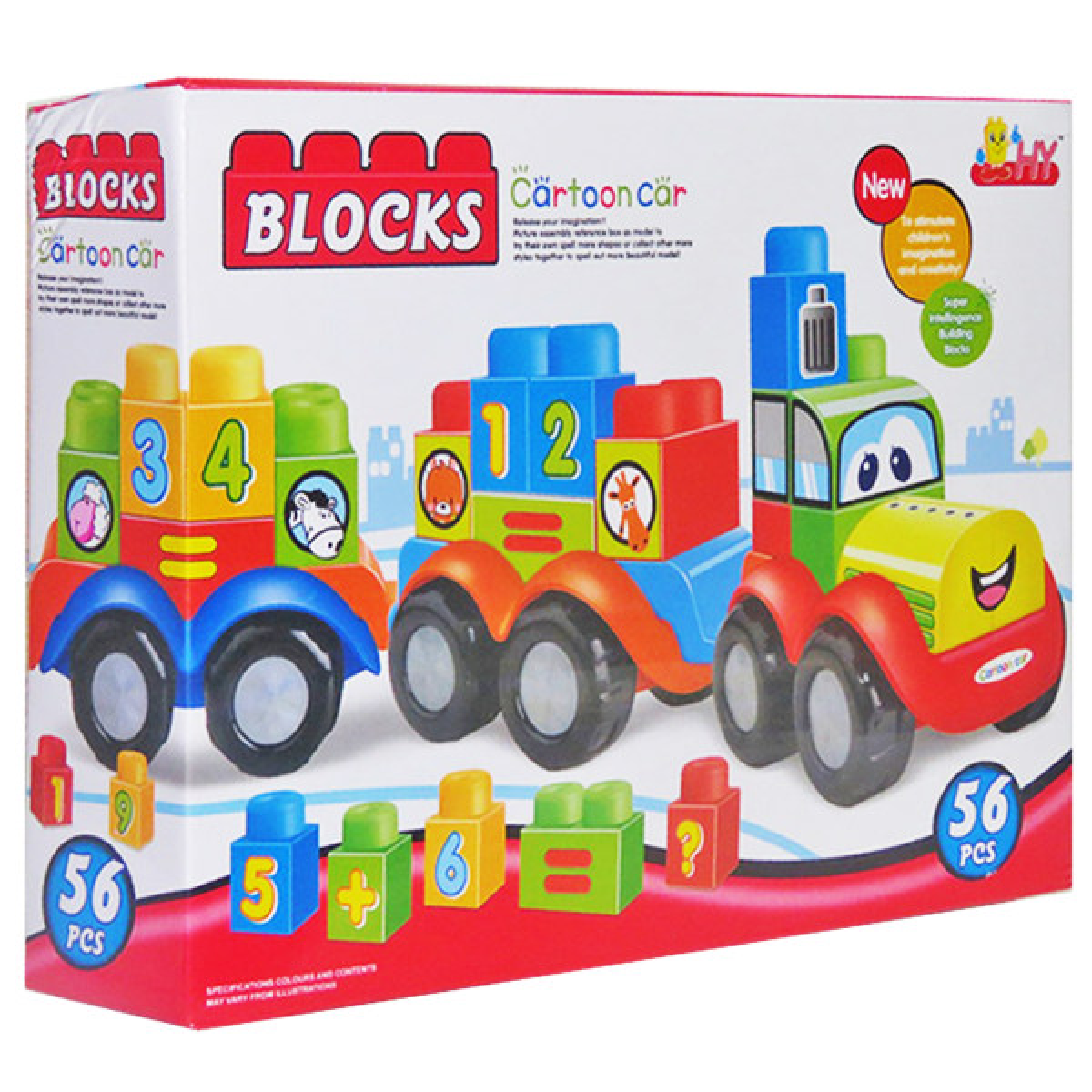 بازی آموزشی بلوکس مدل قطار اعداد