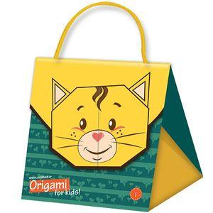 مجموعه آموزشی و ساخت اوریگامی اوریمان مدل گربه