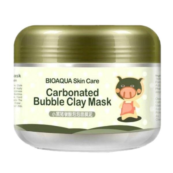 ماسک صورت بایو آکوا مدل Carbonated Bubble Mas حجم 100 میلی لیتر