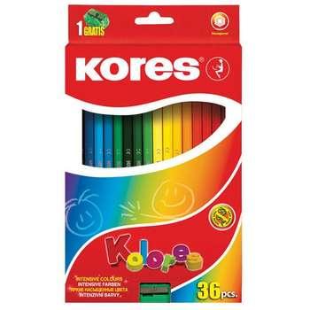 مداد رنگی 36 رنگ کورس