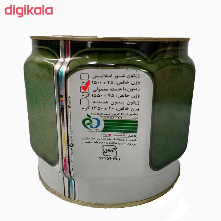 کنسرو زیتون شور مهدپروران سبز - 2700 گرم main 1 1