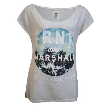 تیشرت زنانه فرانکلین مارشال مدل Uni Short کد 688B |