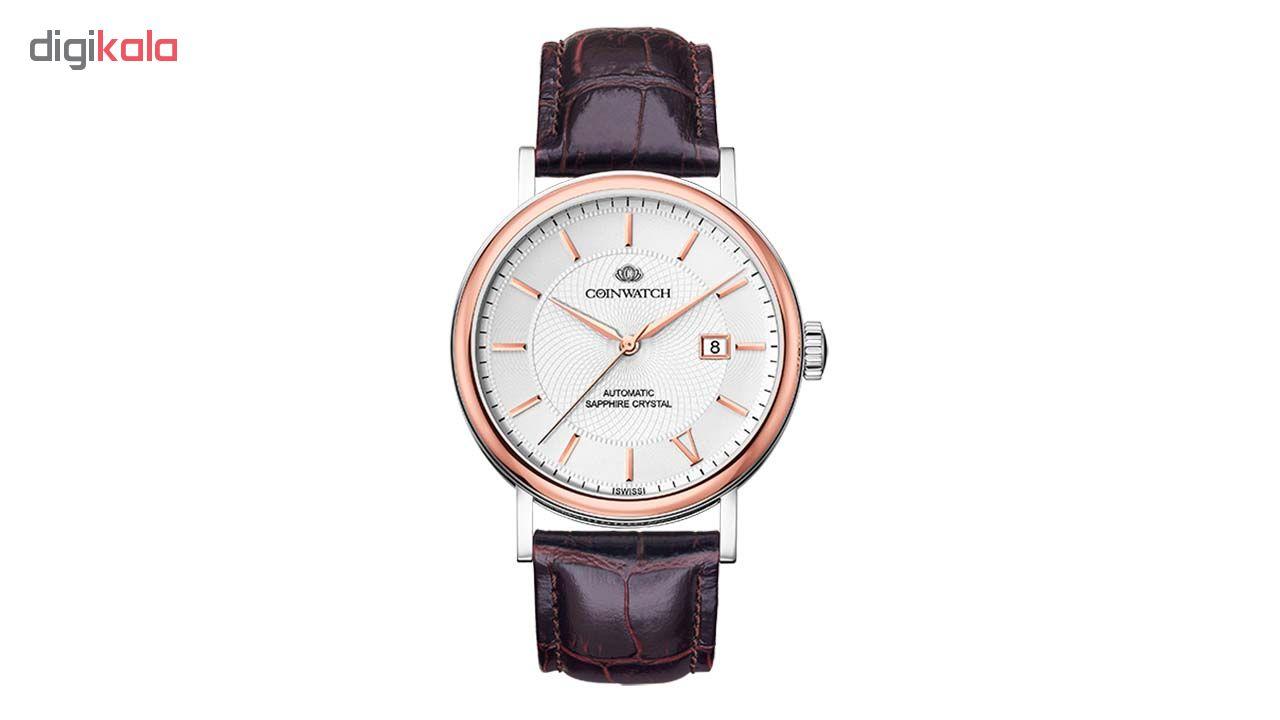 ساعت مچی عقربه ای مردانه کوین واچ مدل C166RWH
