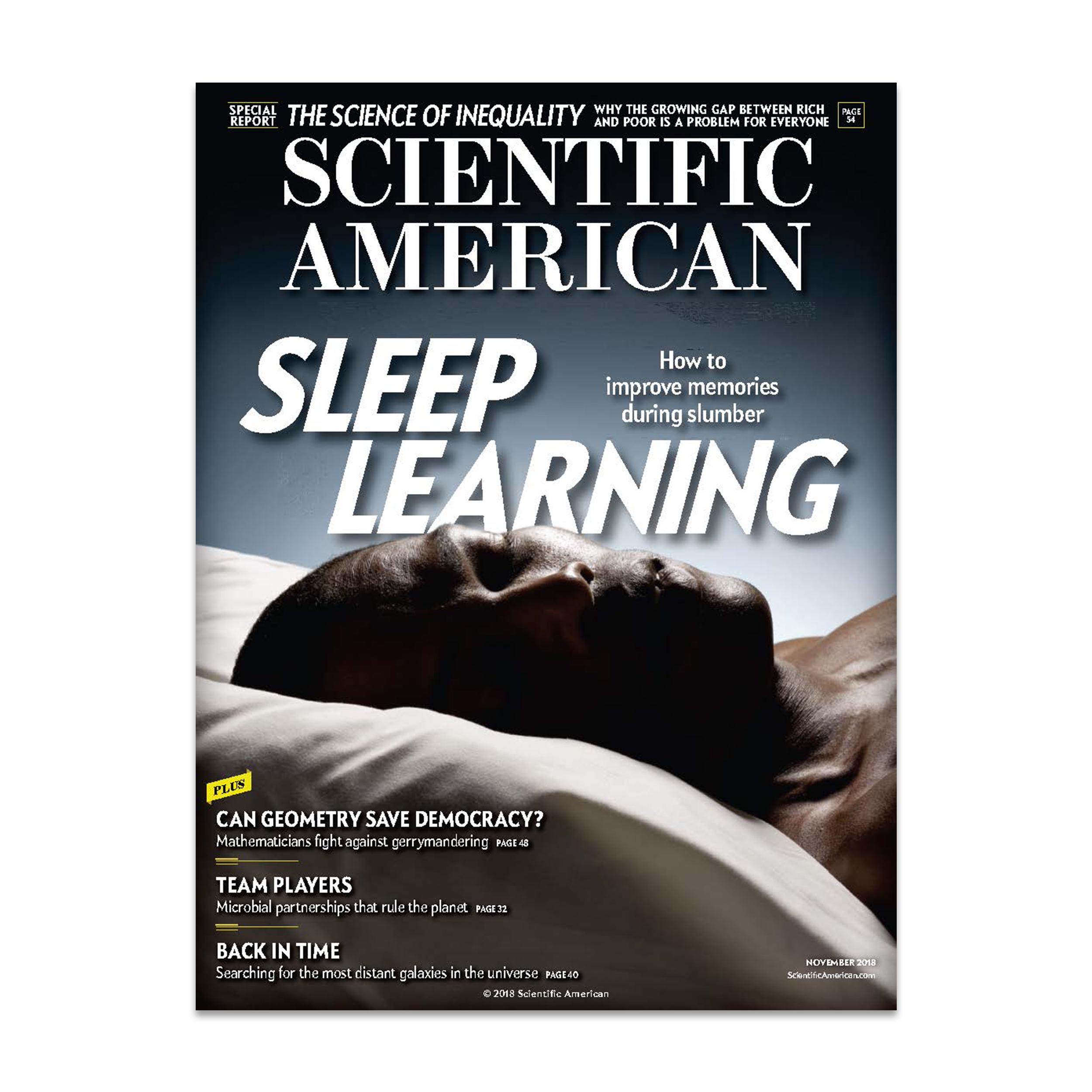 مجله ساینتیفیک امریکن نوامبر 2018