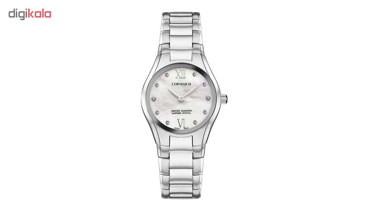 ساعت مچی عقربه ای زنانه کوین واچ مدل C168SWH