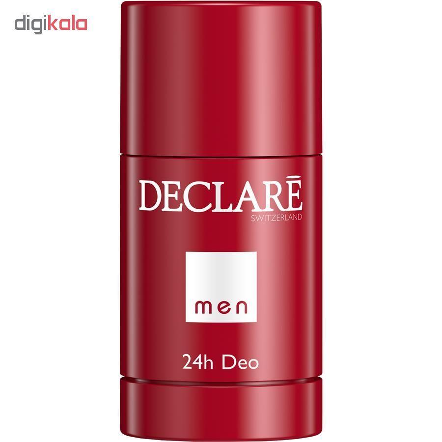 استیک ضد تعریق مردانه دکلره مدل 24h Deo حجم 75 میلی لیتر main 1 1