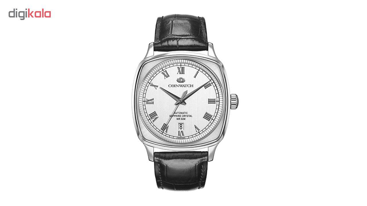 خرید ساعت مچی عقربه ای مردانه کوین واچ مدل C170SWH