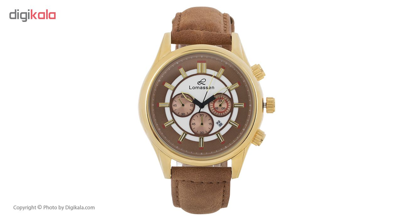 ساعت مچی عقربه ای لوماسن مدل No R00252n