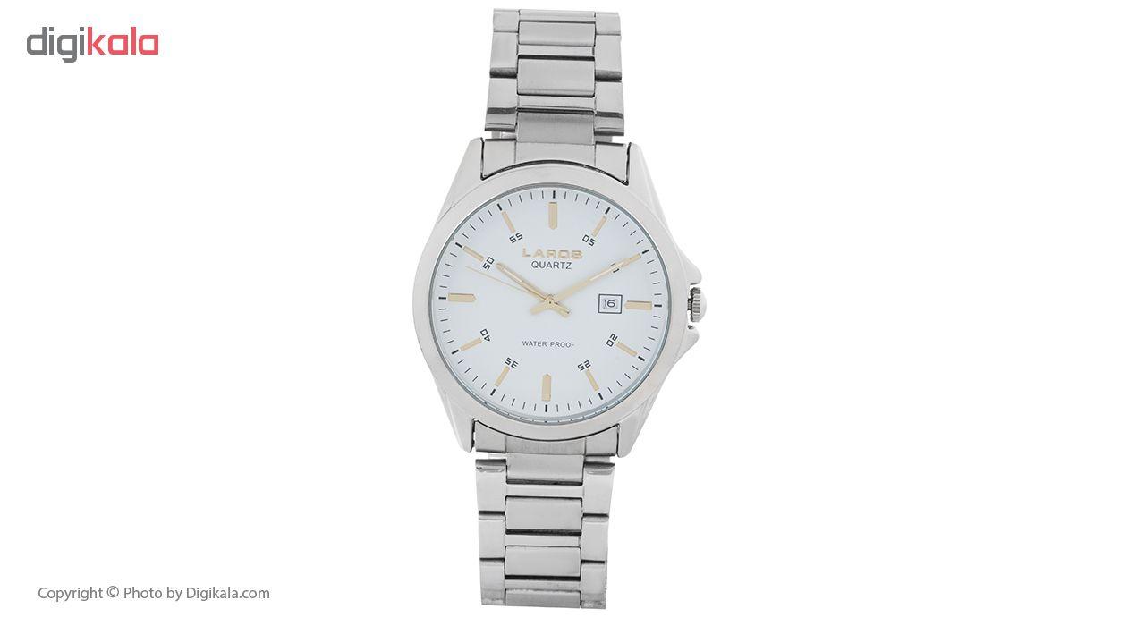 ساعت مچی عقربه ای مردانه لاروس مدل 1216-79717a