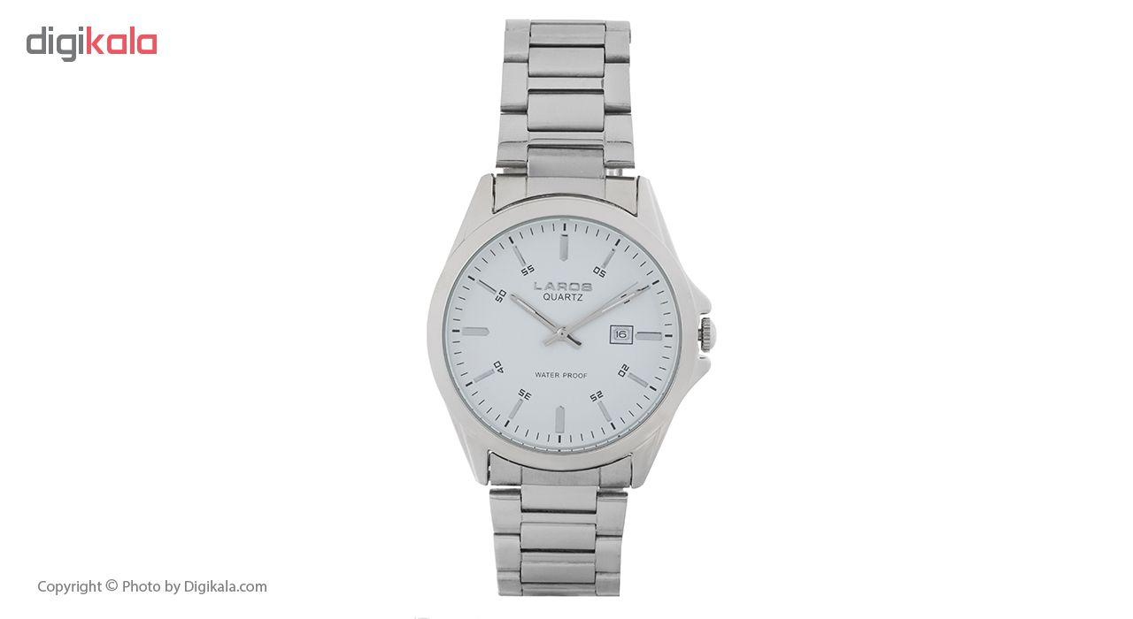 خرید ساعت مچی عقربه ای مردانه لاروس مدل 1216-79717b