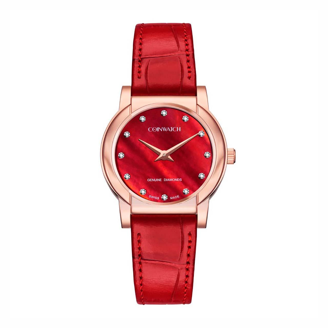 ساعت مچی عقربه ای زنانه کوین واچ مدل C178RRD
