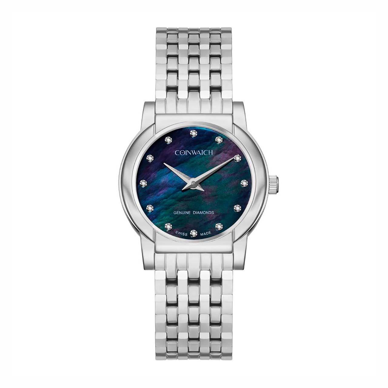 ساعت مچی عقربه ای زنانه کوین واچ مدل C178SBK