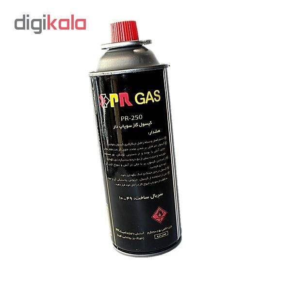 کپسول گاز بوتان 220 گرمی پارس رگلاتور مدل 250 PR بسته 4 عددی main 1 1